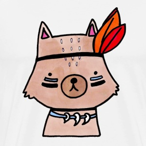 Little Wolf - Premium-T-shirt herr