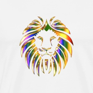 Stylish design in lion motif - Men's Premium T-Shirt