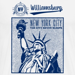 New York City · Williamsburg - Männer Premium T-Shirt