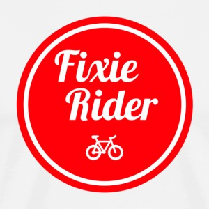 fixie Rider - Men's Premium T-Shirt