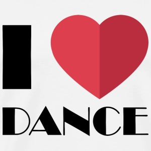 I love dancing for dancers - Men's Premium T-Shirt