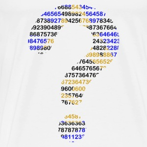 Numbers - Men's Premium T-Shirt