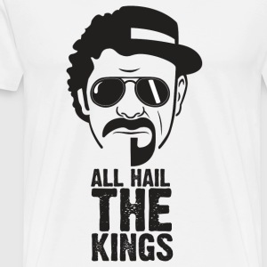 Alle Hail KINGS - Premium T-skjorte for menn
