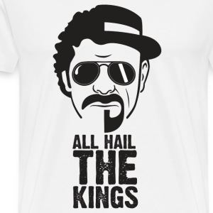 Allt hagel KINGS - Premium-T-shirt herr