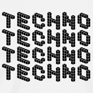 TECHNO SHIRT - Herre premium T-shirt