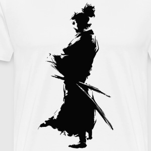KING SAMURAI COLLECTION - Herre premium T-shirt