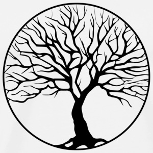 tree circle - Men's Premium T-Shirt
