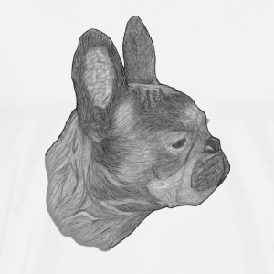 Dog French Bulldog - Men's Premium T-Shirt