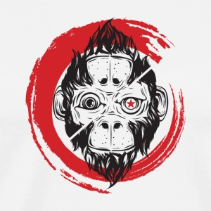 Scimmia_cambia_1 monkey - Men's Premium T-Shirt