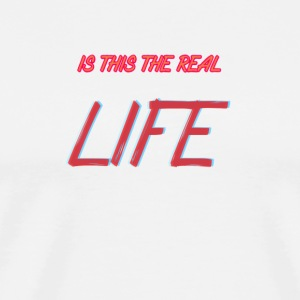 RealLIFE - Premium T-skjorte for menn
