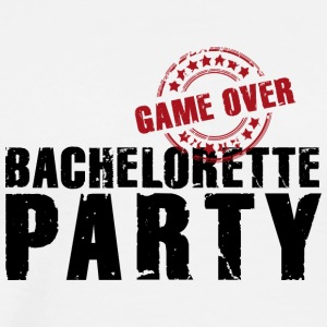Bachelorette Party gameover JGA Team Bride flickor - Premium-T-shirt herr