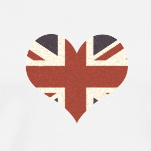 Union Jack Heart - Men's Premium T-Shirt