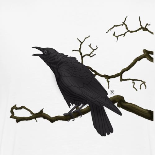 Cuervo negro - Camiseta premium hombre