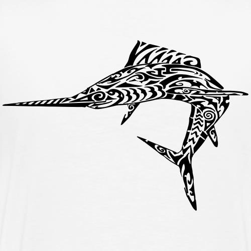 The Black Marlin - Men's Premium T-Shirt