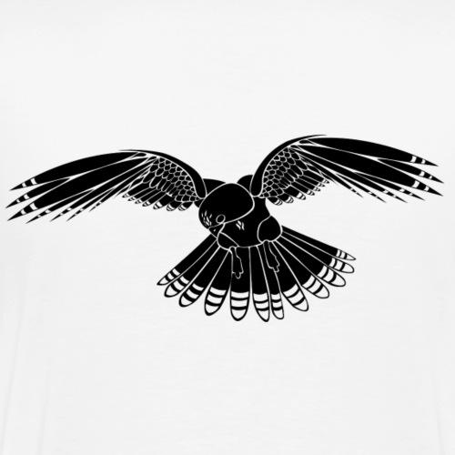motif faucon - T-shirt Premium Homme