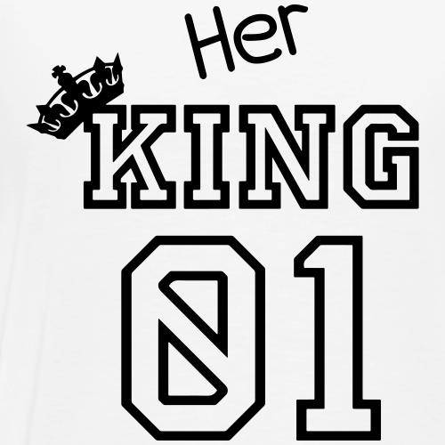 Her KING 01 - Männer Premium T-Shirt