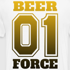 Beer Force 01 - Partyteam N1 - Premium-T-shirt herr