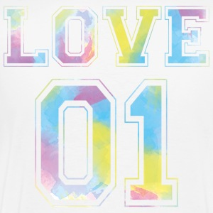 LOVE 01 - Watercolor Edition - Men's Premium T-Shirt