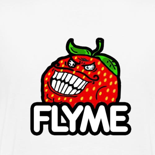 Strawberry Flyme - T-shirt Premium Homme