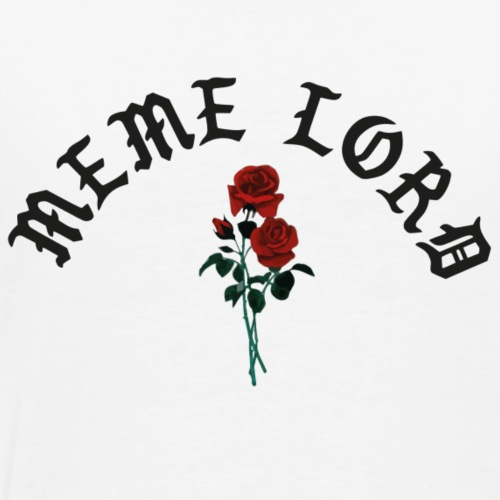 Meme lord rose - Männer Premium T-Shirt