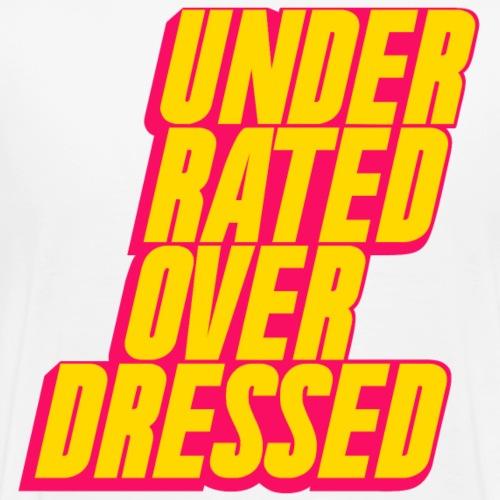 maximum! x underrated/overdressed - Männer Premium T-Shirt