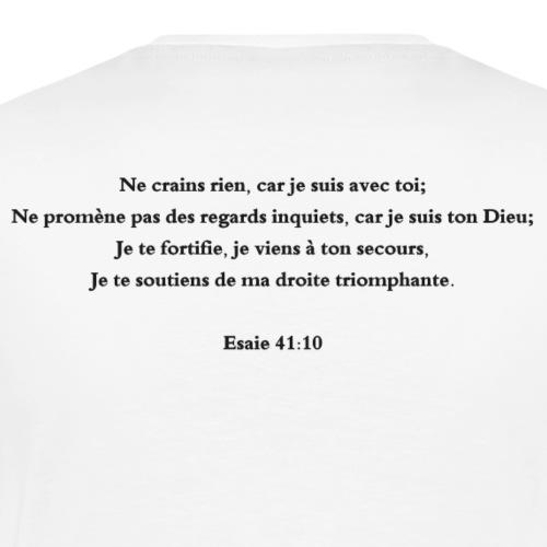 Esaie 41:10 - T-shirt Premium Homme