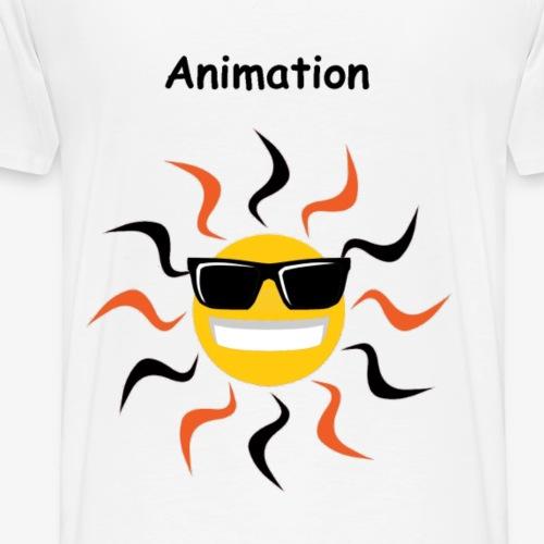 Sunshine Animateur - Männer Premium T-Shirt