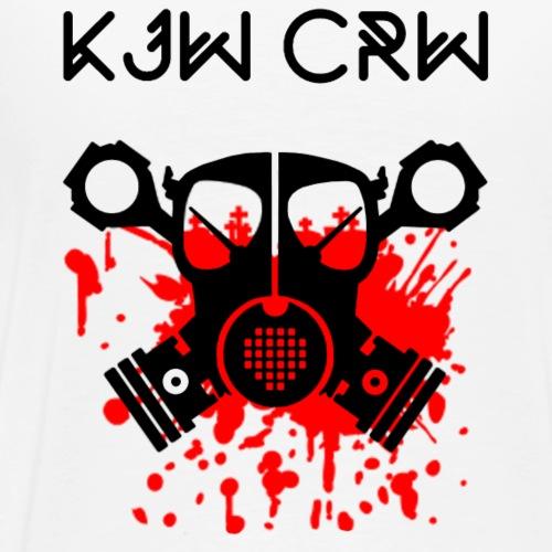 KJW Kopf mit CRW 1 - Männer Premium T-Shirt