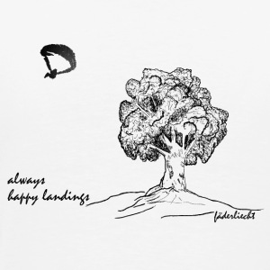 Always Happy Landings - Männer Premium T-Shirt