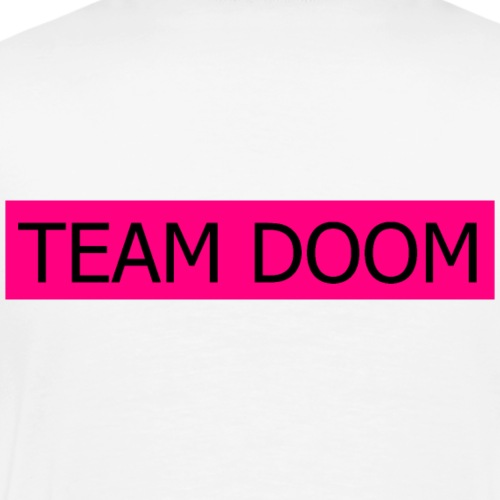 Team Doom Back - Männer Premium T-Shirt