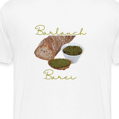 Bärlauch Tee - Männer Premium T-Shirt