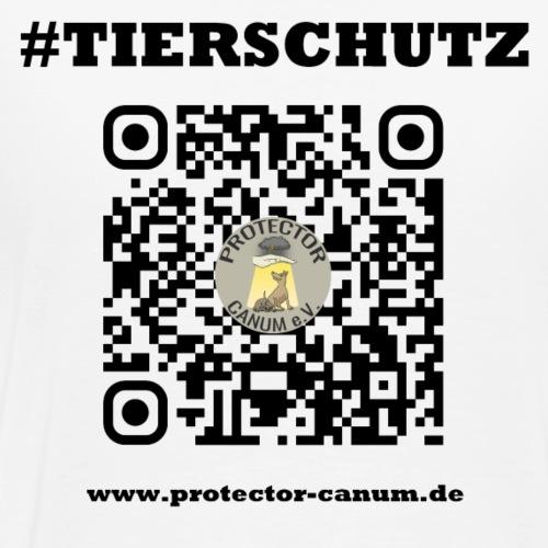 Canum Code Back - Männer Premium T-Shirt