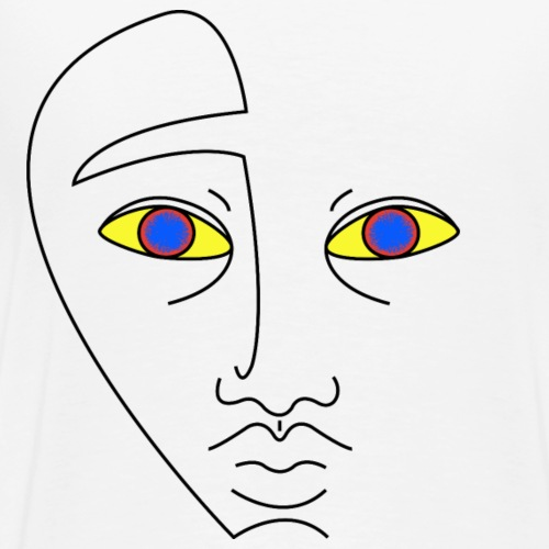 Blue eyes - T-shirt Premium Homme