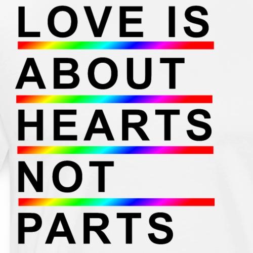 Love is about B - Men's Premium T-Shirt