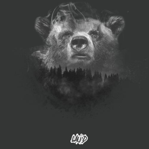 BearOnWhite - Men's Premium T-Shirt
