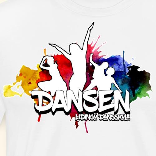 Dansen ColorSplash - Premium-T-shirt herr
