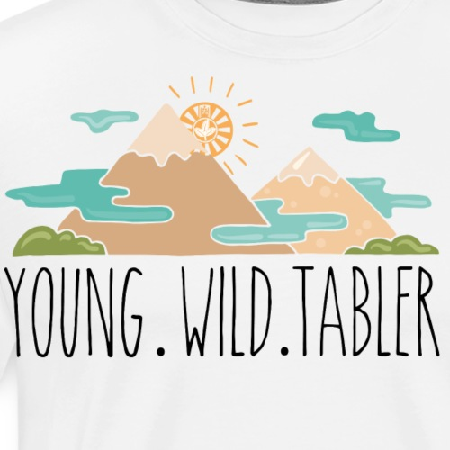 young.wild.tabler - Männer Premium T-Shirt