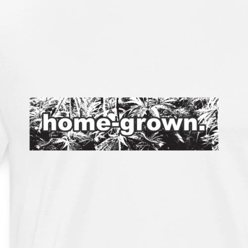 Homegrow Weed Kiffer Stoned High - Men's Premium T-Shirt