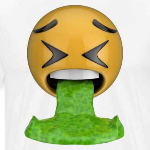 Emoji vomissant - T-shirt Premium Homme