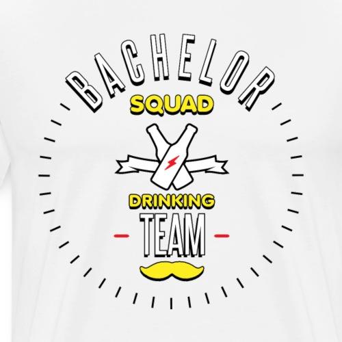 Bachelor squad drinking team - T-shirt Premium Homme