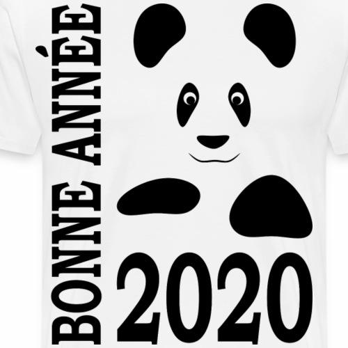 Bonne Année 2020 - Panda - T-shirt Premium Homme