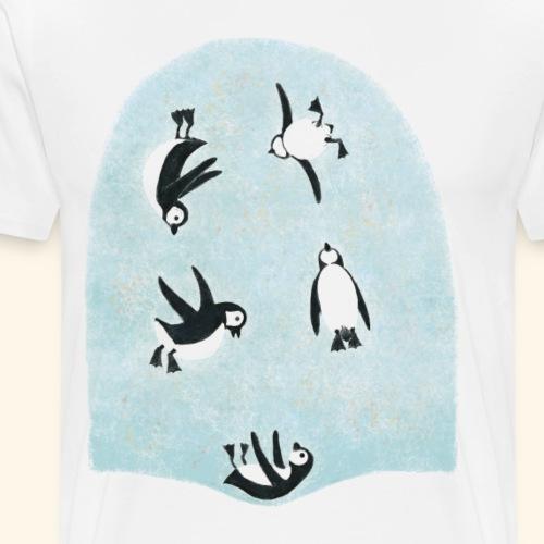 Pinguine - Männer Premium T-Shirt