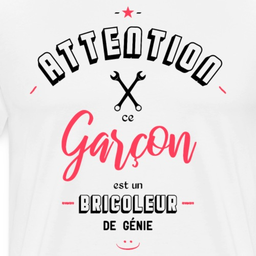 Bricoleur de génie - T-shirt Premium Homme