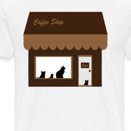 Coffee Shop - Männer Premium T-Shirt
