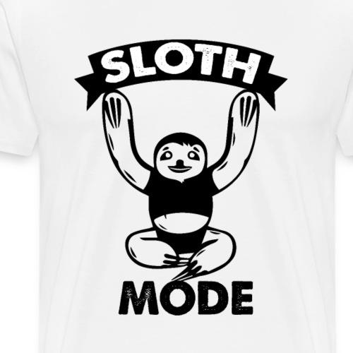 Sloth Mode - Männer Premium T-Shirt
