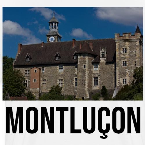 Montluçon ville auvergnate - T-shirt Premium Homme