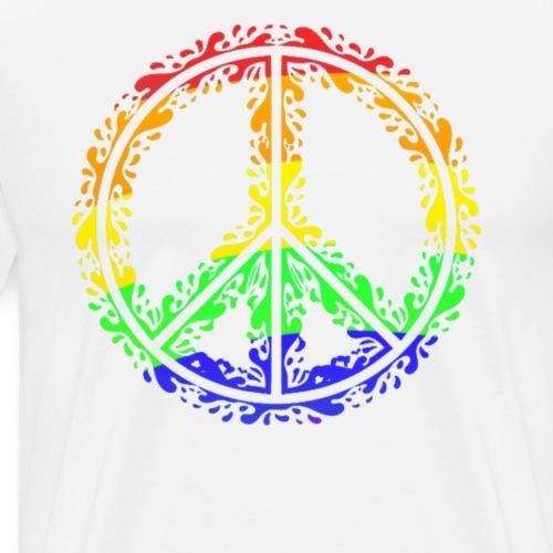 Peace - Mannen Premium T-shirt