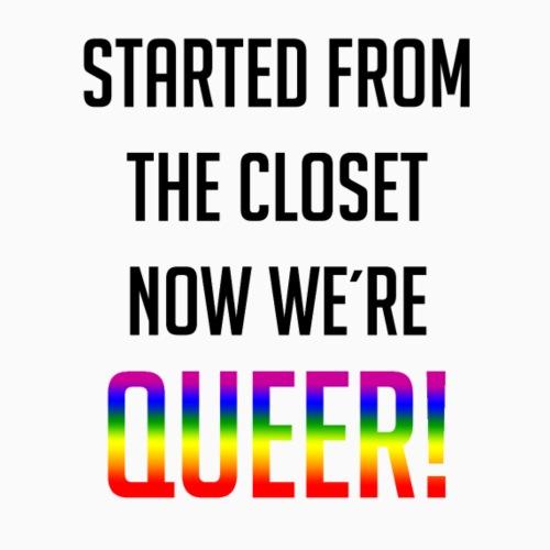 Not in the closet anymore - Men's Premium T-Shirt