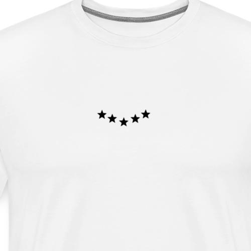 Sterne Bestseller Shirt - Männer Premium T-Shirt