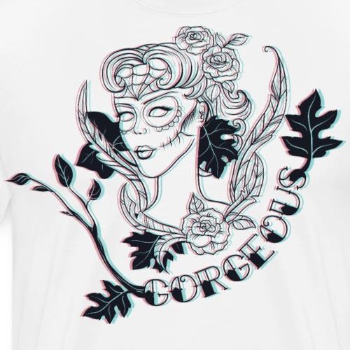 Death Beauty Gorgeous - Männer Premium T-Shirt
